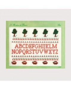 Cherry alphabet
