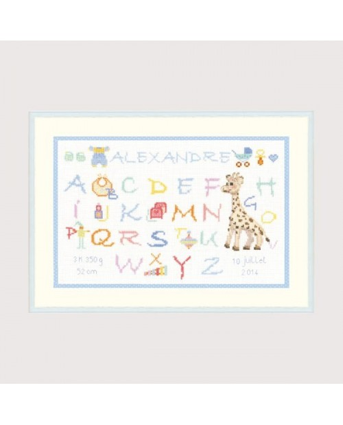 Alphabet Child - Alexandre