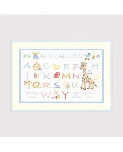 Alphabet Child - Alexandre