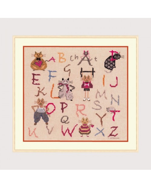 Alphabet Cats