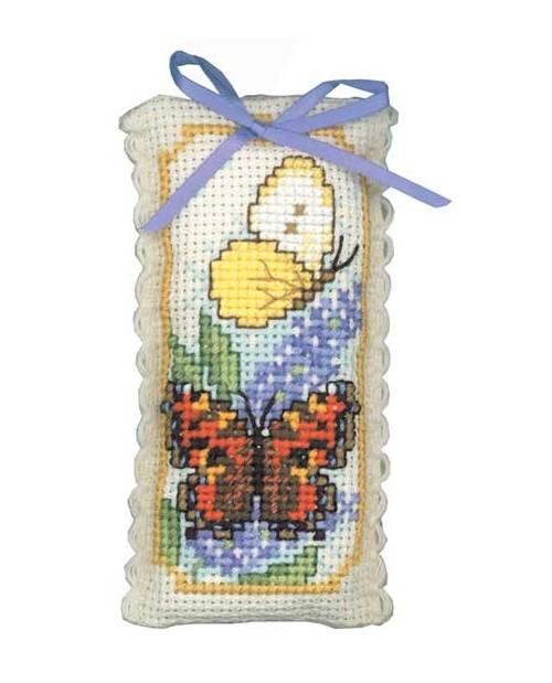 Lavender sachet butterfly
