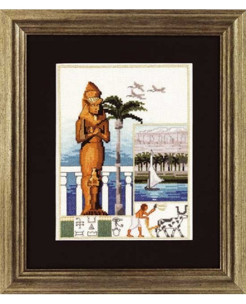 The Nile and the colossus