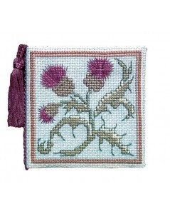Needles case ancient thistle