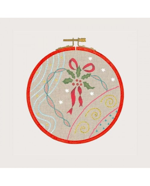 Embroidery lesson - Christmas