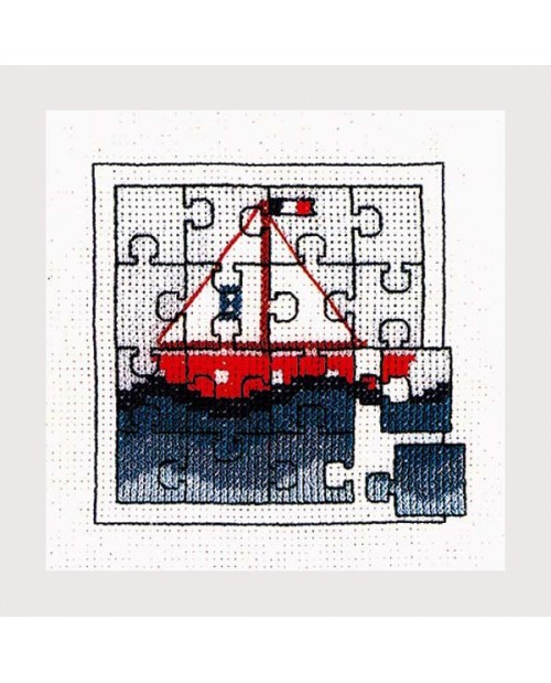 Puzzle boat