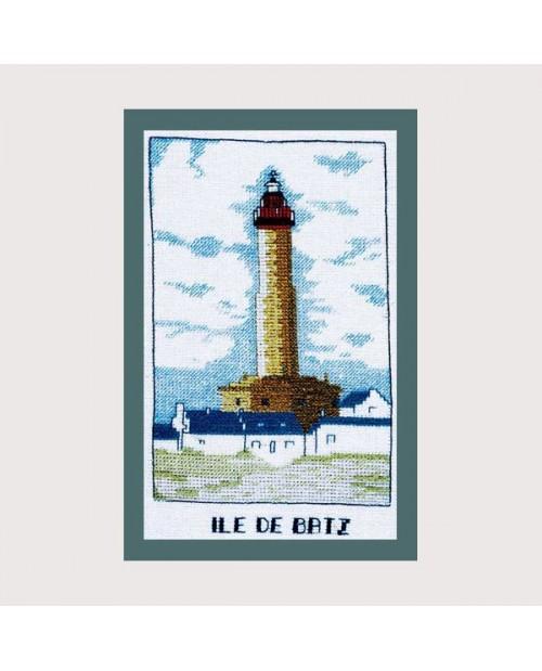 Batz Island's lighthouse