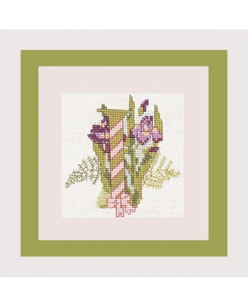Letter flower - I