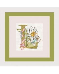 Letter flower - L