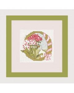 Letter flower - O
