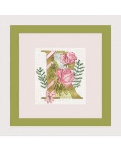 Letter flower - R