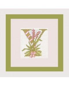 Letter flower - Y