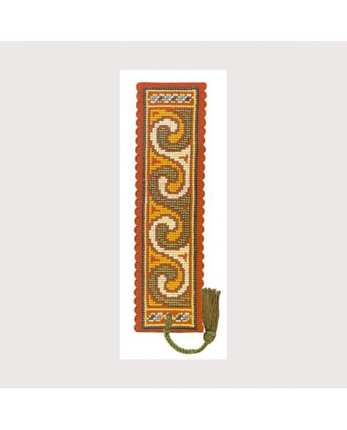 Bookmark kit celtic spiral
