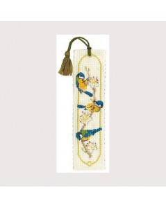Bookmark kit bluetits