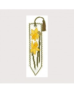 Bookmark kit yellow flowers
