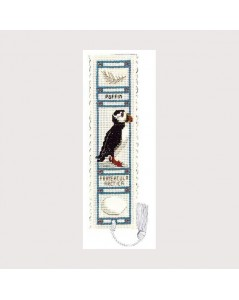 Bookmark kit puffin