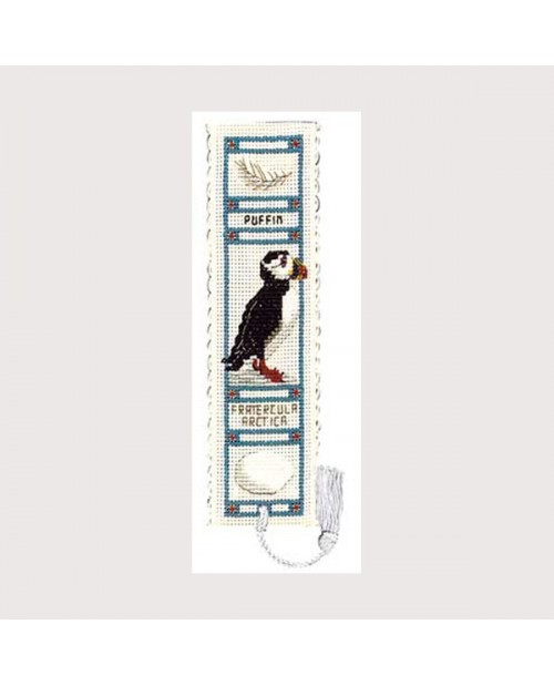 Bookmark kit puffin