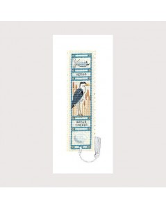 Bookmark kit heron
