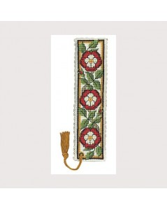 Bookmark kit heraldic rose