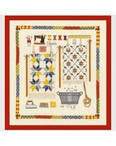 Carpet accessories. Counted cross stitch picture. Le Bonheur des Dames 2614