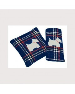Navy blue scotch-terrier
