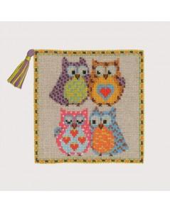 Pin-cushion Owls