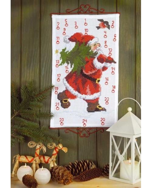 Santa Claus/Christmas tree - Advent calendar