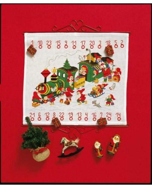 Christmas train - Advent calendar
