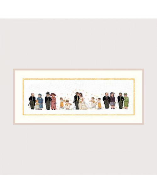 The complete wedding embroidery