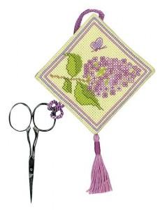 Scissors keep lilac