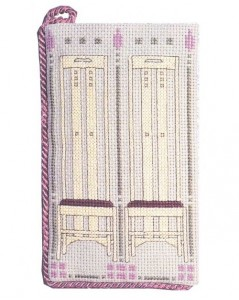 Spectacle case chair Mackintosh