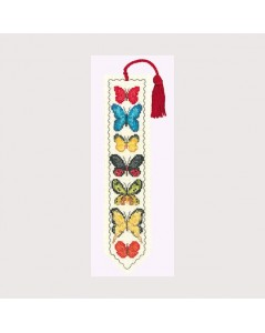 Butterflies Bookmark