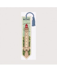 Lighthouse whales Bookmark