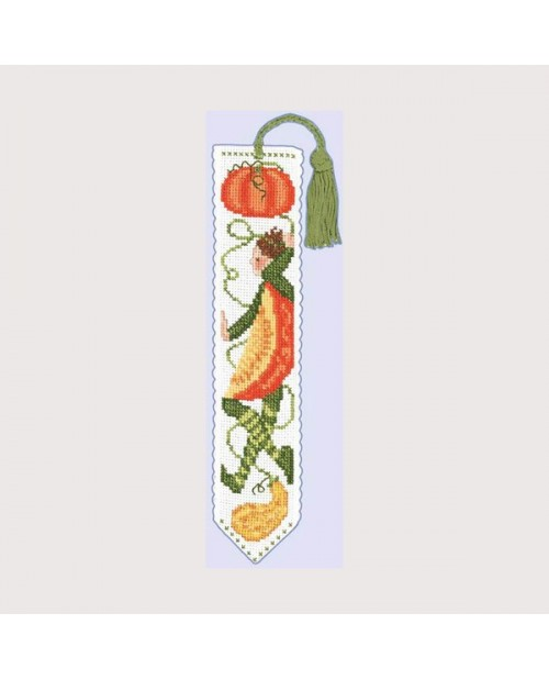 Bookmark Mister Pumpkin