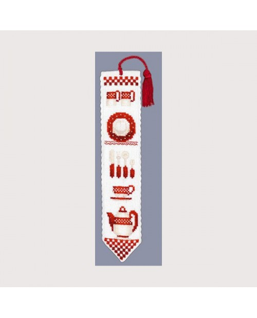 Bookmark red dishes