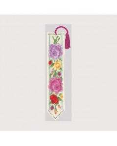 Bookmark multicoloured Roses