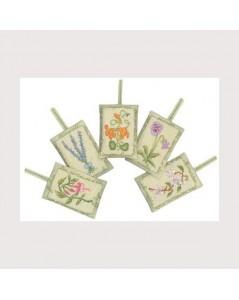5 lavender sachets