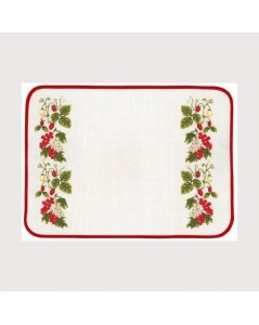 Redcurrants placemat