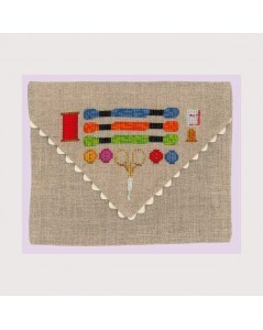 Envelope for sewing