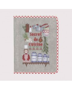 Notebook cover Kitchen Secret
