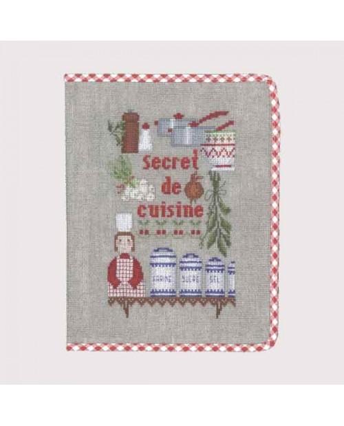 Notebook cover Kitchen Secret