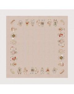 Tablecloth Cats