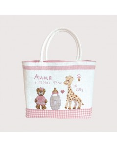 Handbag couture Child - pink