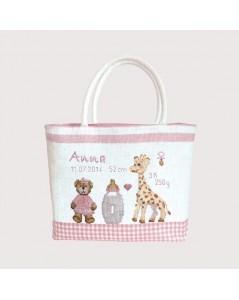 Handbag couture Child - pink