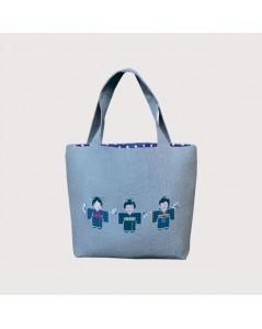 Handbag couture Japanese - sewn