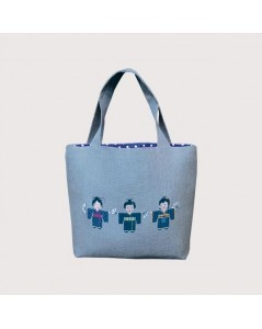 Handbag couture Japanese - sewn
