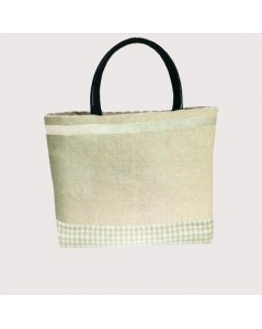 Handbag couture natural color