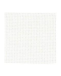White aïda 7.1 stitches/cm  width 160 cm