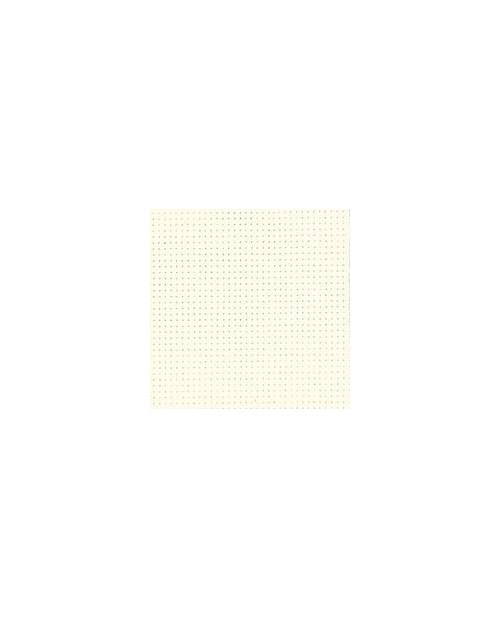 White-off aïda 7.1 stitches/cm  width 160 cm