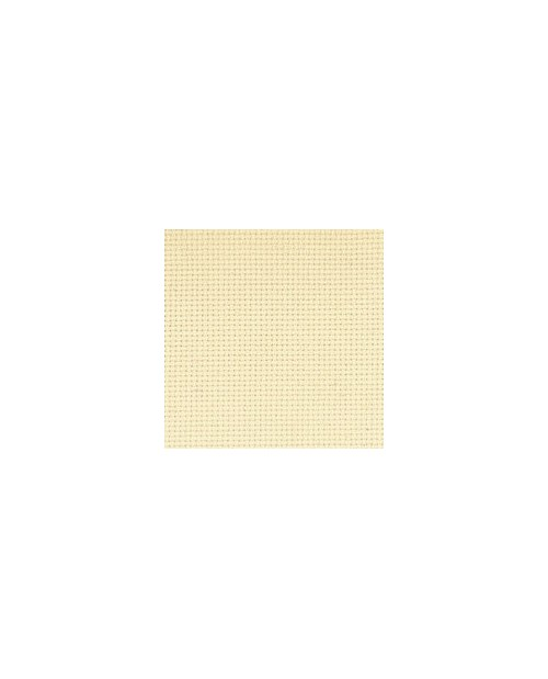 Sand-coloured aïda 7.1 stitches/cm  width 160 cm
