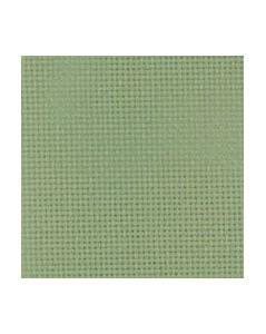 Green coton aïda 7.1 stitches/cm  width 130 cm